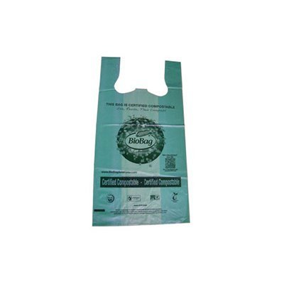 BioBag RegSHOP Certified Compostable Shopping Bags, 500 Bags (Patio Shopper)