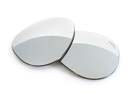 FUSE+ Chrome Mirror Polarized Lenses for Maui Jim R&D - Sunglasses R&d