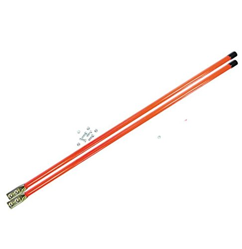 NEW SNOW PLOW REPLACEMENT BLADE GUIDE FLOURESCENT ORANGE KIT FITS MARKER 28 INCH SNP4902