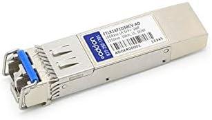 - 10 Gigabit SFP+ transceiver module equivalent to: Finisar FTLX1471D3BCV Addon FTLX1471D3BCV-AO Finisar FTLX1471D3BCV Compatible SFP+ Transceiver