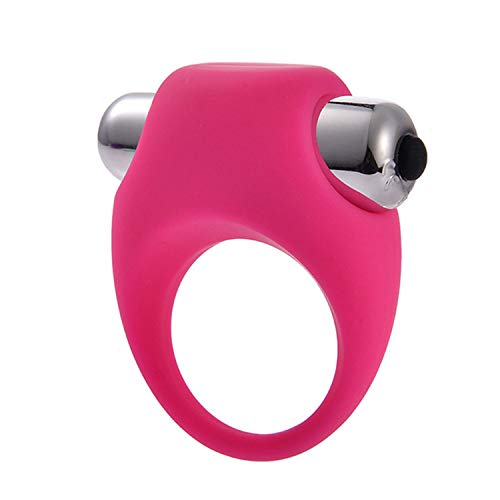 Colorpanda Vibrators Men Silicone P-Enis Ring Sex Vibrating C-ock Ring Toy Butterfly Ring Delay Premature Ejaculation C-ock Ring Adult Product