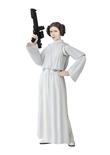 Bandai S. H. Figuarts Star Wars Princess Leia Organa (Star Wars: A New Hope) Approximately 135 mm PVC & ABS Painted Movable Figure Japan Import (Japan Star Wars)