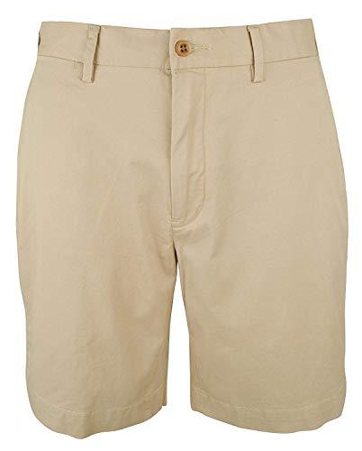 Ralph Lauren Flat Front Shorts - Polo Ralph Lauren Mens Classic-Fit Flat Front Casual Shorts, 35, Coastal Beige