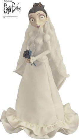 Amazon.com: Corpse Bride Collection Doll Victoria Wedding Style Y ...