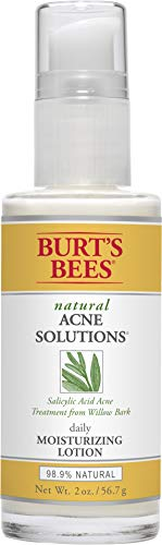 Burt's Bees Natural Acne Solutions Daily Moisturizing Lotion, Face Moisturizer for Oily Skin, 2 Ounces