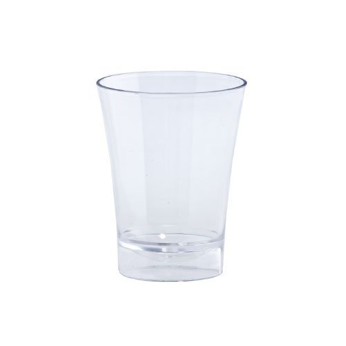 Lillian Tablesettings 20-Piece Shot Glasses Set, 2-Ounce, Clear