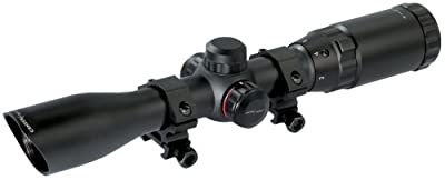 Crosman CenterPoint Adventure Class 2-7x32mm riflescope with dual illuminated reticle