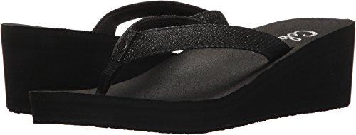 Cobian Women's Grace Flip-Flop, Black, 7 M US
