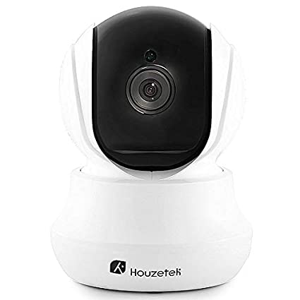 Cámara de seguridad inalámbrico, houzetek 720P HD Indoor WiFi Cámara IP de vigilancia doméstica con
