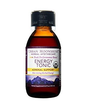 Urban Moonshine Organic Energy Tonic Rhodiola & Eleuthero – 4 fl oz Review