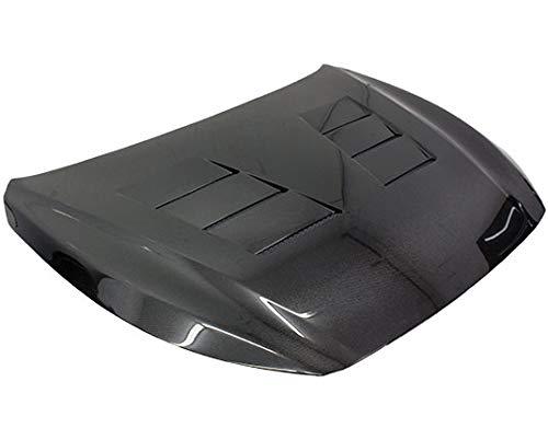 VIS Racing (VIS-JEV-683) Black Carbon Fiber Hood Terminator Style for Infiniti Q50 4DR 14-18 ()