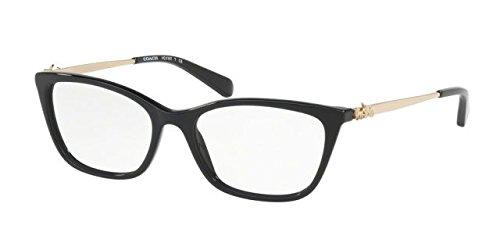 Eyeglasses Coach HC 6107 5486 - Frames Black Coach Eyeglasses