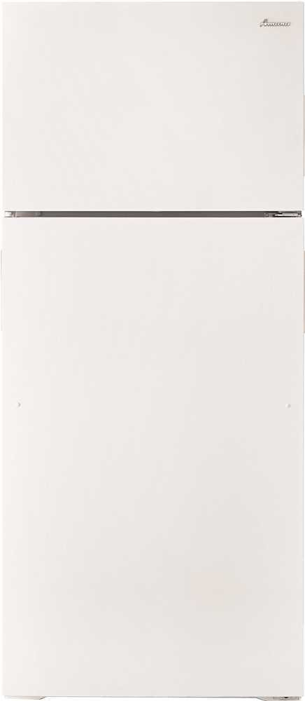 WHIRLPOOL ART106TFDW 2476851 Amana 16 cu. ft. Top-Freezer Refrigerator with Reversible Door, White