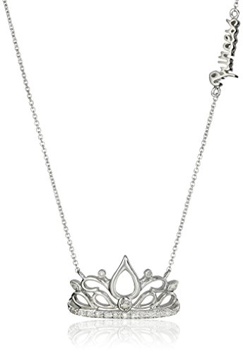 - Sterling Silver Diamond Tiara