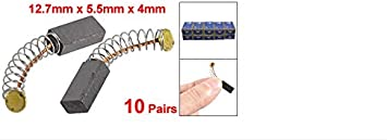 Size : 33mm//1.3 F-MINGNIAN-SPRING 20pcs//10Pair 12.7mm x 5.5mm x 4mm Power Tool Electric Motor Spring Carbon Brush Replacement Hand Tools for Electric Drill