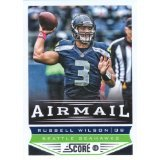 (Russell Wilson Seattle Seahawks 2013 Score Airmail Football Card #249 )