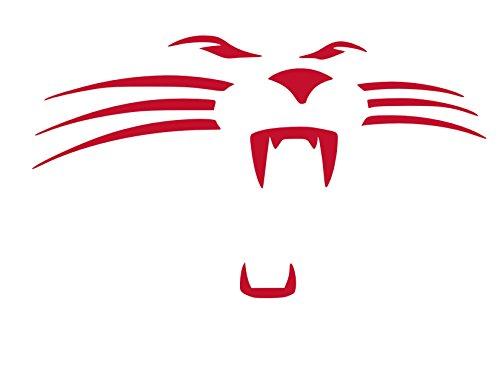Carolina Panthers Face vinyl Sticker Decal (12