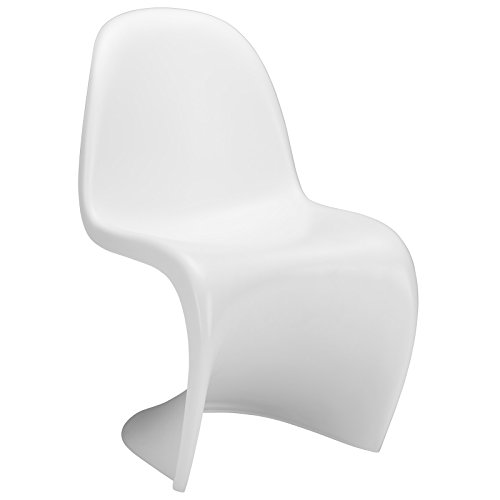 (Poly and Bark Panton S Chair, White)