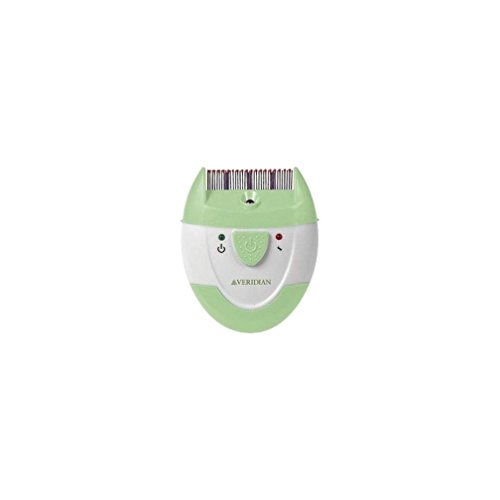 Veridian Healthcare Finito Electronic Lice Comb Green/White