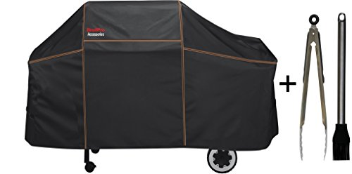 BriolPro Accessories 7552 Grill Cover with Brush and Tong...