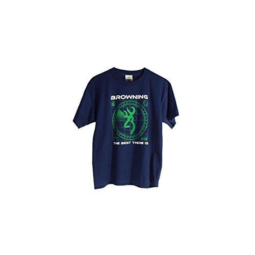 - Browning Youth Radar Hunting And Shooting Kids T-Shirt (Blue, medium)