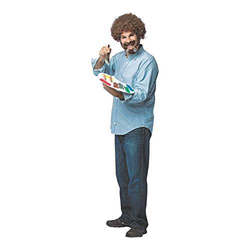 Rasta Imposta Bob Ross Kit Costume -