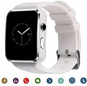 Pcjob Reloj Inteligente Smartwatch X6 Bluetooth Reloj teléfono ...
