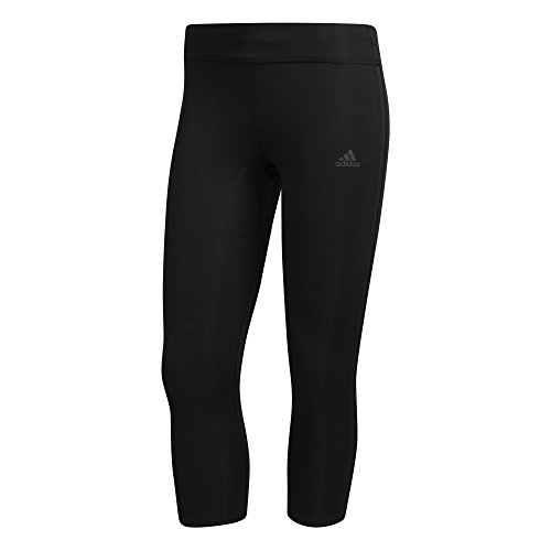 adidas Women's Response Tights, Black/Black, X-Small by adidas (Image #5)