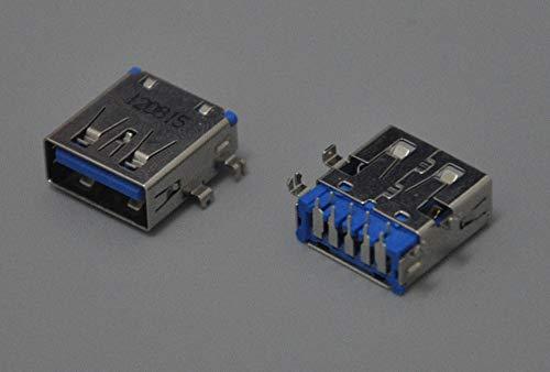 Davitu 1pcs USB 3.0 socket fit for Toshiba Satellite C50-A C50t-A C55-A C55t-A C850 HP Pavilion DV4-4000 series laptop usb jack ()