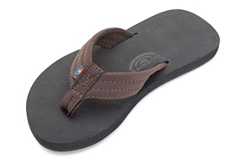 Rainbow Sandals Grombows (13/1 Kids, Brown)