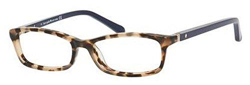 Kate Spade - Monture de lunettes - Femme Camel Tortoise Navy