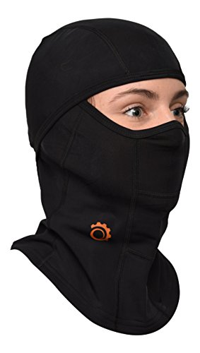 Balaclava by GearTOP, Best Full Face Mask, Premium Ski Mask and Neck Warmer for Motorcycle and Cycling