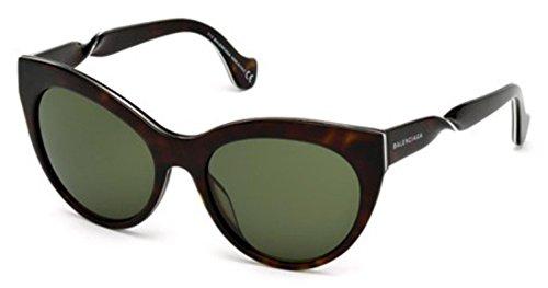 Sunglasses Balenciaga BA 51 BA0051 52N dark havana / green
