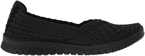 Skechers Bobs De Mujeres Pureflex3-wonderlove Mary Jane Flat Black / Black