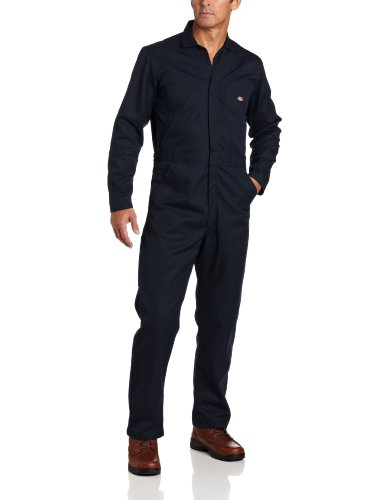 Dickies Men's Basic Blended Coverall, Dark Navy, S Regular -