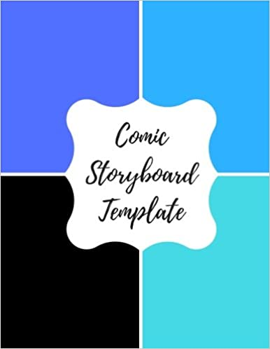 comic storyboard template blank empty cartoon strips 8 5 x 11 in