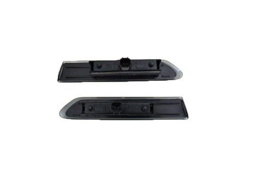 1-Pair Acura TL Replacement Side Marker Light Assembly LED Diamond Design, Smoke Lens