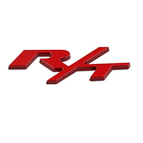 R//T RT Grill New Emblem Badge w Sticker for Dodge Challenger Charger Cool Gift