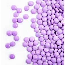 Light Purple Milk Chocolate Gems 1 Pound Bag ()