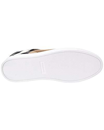 Modello Scarpe Tessuto Burberry Check House Pelle 4054037 Uomo E Sneakers In 0WT4TZq