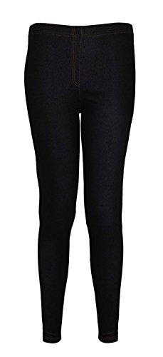 Femme Purple Jean Moulant Leggings Grande Extensible Taille Neuf Ponte Noir Hanger 4Yw4Cq6
