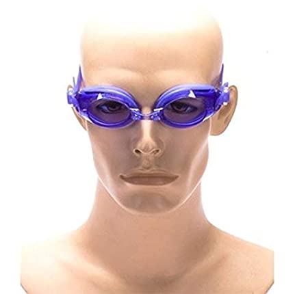 USA Sports Swimming Goggles for Young Adult and Children Silicone//Clear Lenses//Anti Fog//Adjustable Size with 2 Extra Nose Bridges