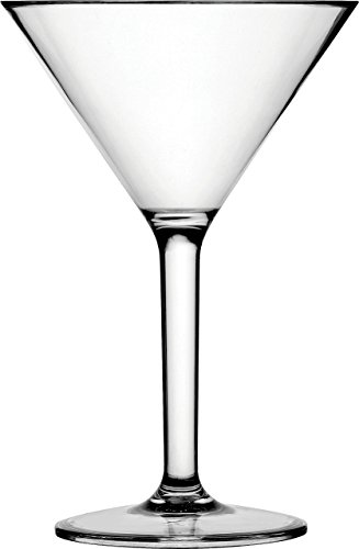 Circleware Martini Wine Glasses, Set of 4, 8 Ounce, Limited Edition Champagne Wine Whiskey Scotch Liquor Cups