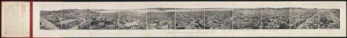 1877 Panoramic San Francisco, from California Street hill, 1877 62