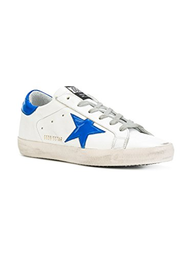 Golden Goose Sneakers Donna G31WS590C75 Pelle Bianco/Blu