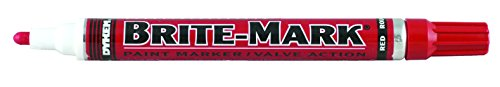 Paint Mark Marker Brite - BRITE-MARK Medium Tip Paint Marker, Red