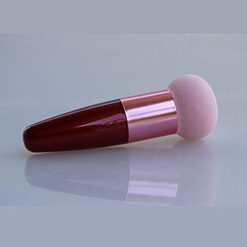 Fashion Lady Multi-color Cosmetic Makeup Liquid Cream Foundation Sponge Brushes (Color - Pink)