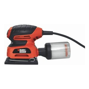 Black & Decker QS900 1/4-Sheet Sander with Filtered Dust Collection - Power Sheet Sanders -