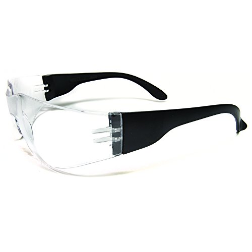 Ultimate UV Protection, Scratch Resistant Clear Lenses Safety Glasses, Pack of 12 by ULTIMATE SAFETY GLASSES (Image #3)