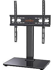 """Perlegear TV-bordsstativ för 26""""-55"""" TV-apparater rymmer 40 KG max. VESA 400x400mm-justerbart TV-stativ"""